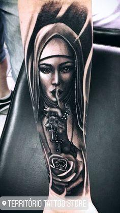 Jailson Leg Sleeve Tattoo, Arm Band Tattoo, Chicano Tattoos, Body Art Tattoos, Day Of The Dead Skull Tattoo, Maria Tattoo, St Michael Tattoo, Mandela Tattoo, Wicked Tattoos