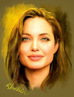 Angelina Jolie by shahin