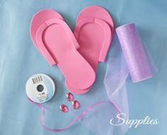 pedicure slippers tutorial-3 copy