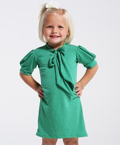 Green 45 Words Per Min Dress