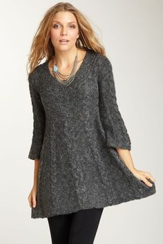 cute sweater bell tunic