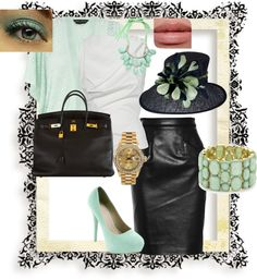 """""""mint love"""" by oneandonly7 on Polyvore"""