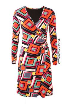 Davis Boxes Orange von KD Klaus Dilkrath #kdklausdilkrath #kd #dilkrath #kd12 #outfit #dress