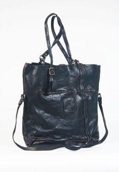 Campomaggi Cowhide Bag in Black