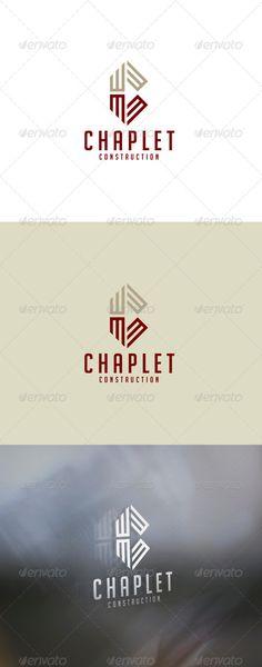 Chaplet Construction - Creative Logo Designs