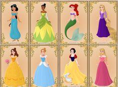 The Disney Princesses!