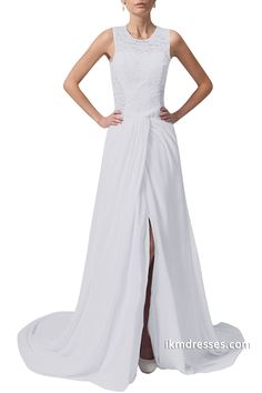 http://www.ikmdresses.com/Boho-Wedding-Dress-Lace-Bridal-Gown-Chiffon-Beach-Wedding-Dress-Party-Dress-2015-p88631