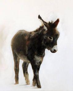"Saatchi Art Artist Jasper M Hulshoff Pol; Painting, ""Donkey"" #art"