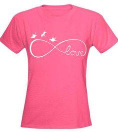 Infinity Symbol T-Shirt | Birds Love