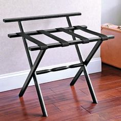 Luggage Racks For Guest Rooms Footstool That Doubles As Suitcase Rack  Brilliant  Furniture