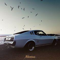 #ferocious #drivetastefully #petrolicious #toyota #celica #ra25 #gt2000 #lb2000 #18rg #import #stanced #stance #jdm #japanese #retrocar #classiccar #watanabe #bosoZoku #kyusha #zokusha #ta27 #ta22 #vintagecar #ra28 #topgear #classic #mine
