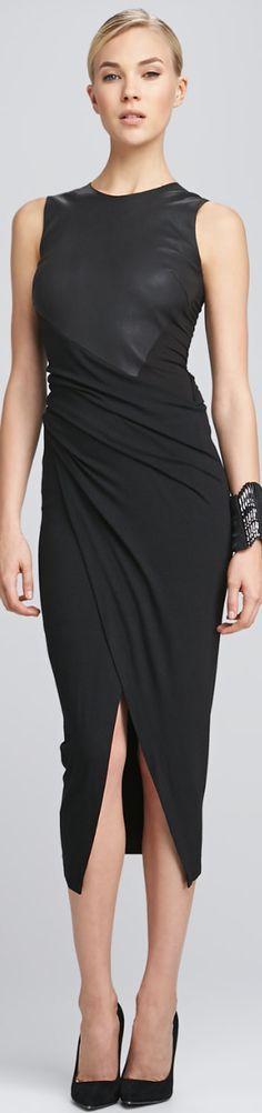 black dressDESIGNER SPOTLIGHT ON DONNA KARAN @roressclothes closet ideas women fashion outfit clothing style