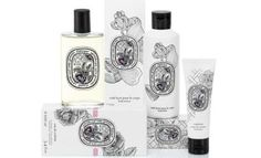 Diptyque has unveiled its new Rose collection, featuring products based on the brand's original Eau Rose fragrance, which launched two years ago. A body lotion, Voile Lacté (£32) launches, containing olive oil derivative, squalane and musk rose oil to moisturise the skin. The Émulsion Pour les Mains (£20), a hand lotion, uses macadamia oil and aloe vera to soften. A new limited edition of the Rosa Mundi candle (£42), the companion to Eau Rose, also launches