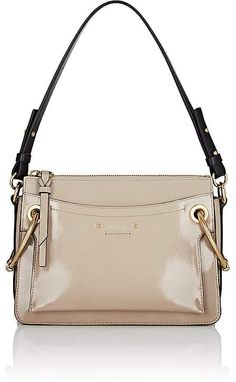 309f166d7323 Chloé - Roy Convertible Two-tone Suede And Leather Shoulder Bag ...