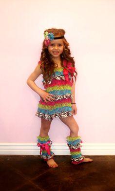 SET- Wild Child Satin/Lace Dress Set