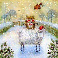 Pinzellades al món: Els animals celebren el Nadal / Los animales celebran la Navidad / The animals celebrate Christmas