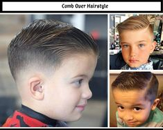 Hair tutorials - boys and girls hairstyles and girl haircuts Little Boy Hairstyles, Old Hairstyles, Wedding Hairstyles With Veil, Hair Comb Wedding, Trendy Boys Haircuts, Girl Haircuts, Comb Over Fade, Long Hair On Top, Different Hairstyles