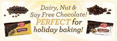 These are sold *near me* too...woo hoo!!! Gluten, dairy, soy, nut free *chocolate*...are you *kidding me?!*
