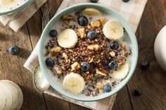 Why not rise and shine to breakfast quinoa? Deliciously sweet and savory, this recipe has you cooking quinoa in your choice of milk with a drizzle of honey.