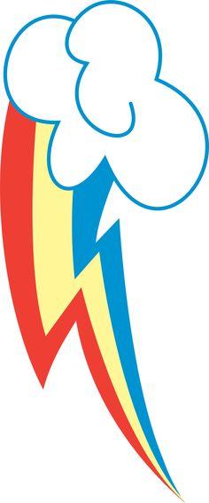 Rainbow Dash's cutie mark by wolfy987.deviantart.com on @deviantART