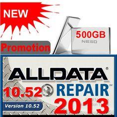 2013 ALLDATA 10.52 Full Set With 500G GOOD Quality HDD Now Price: $124.99 www.shopobd2.com