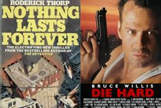 20 Movies You Might Not Know Were Based on Books I could see this being so crazy popular of a display since kids LOVE a lot of these movies and probably don't know they're books first. Who doesn't want to read the original version of Die Hard?!