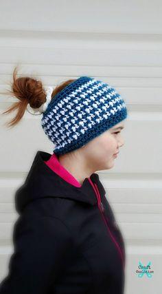 c34149c4e96 Simplicity Messy Bun Hat free crochet pattern – Full Beanie