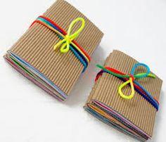 Using Kids Artwork for Handmade Books Toddler Artwork, Childrens Artwork, Handmade Notebook, Handmade Books, Storing Kids Artwork, Kids Workshop, Forever Book, Purple Ribbon, Custom Leather