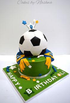 Soccer ball cake ☆☆