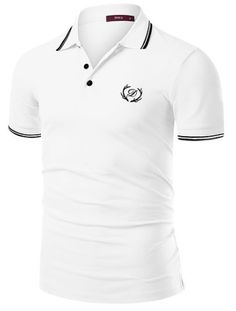doublju-men-trendy-short-sleeve-polo-shirt