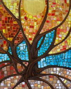 416 Best Mosaic Trees Images In 2019 Mosaic Glass