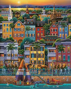 Charleston Jigsaw Puzzle by Eric Dowdle