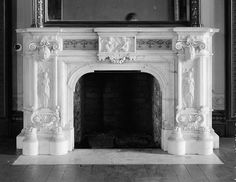 antique fireplace mantel - Victorian fireplace - #fireplace #fireplaces #fireplacemantels