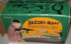 HAKES/PENNEYS: 1960s Secret Agent Weapons Set #Vintage #Toys