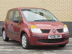 Used 2006 (06 reg) Red Renault Modus 1.2 Oasis 5dr for sale on RAC Cars