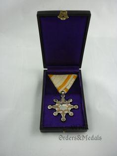 Japan - Order of Sacred Treasure Class War Medals, Royal Art, Kite, World War Ii, Badge, Military, Japanese, Portrait, World
