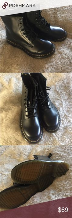Shop Women's Dr Martens Black size 9 Combat & Moto Boots at a discounted price at Poshmark. Description: Never worn NWOT Dr Martens .black size Sold by Fast delivery, full service customer support. Doc Martens Boots, Dr. Martens, Moto Boots, Combat Boots, Dr Martens Black, Female Doctor, Fashion Tips, Fashion Design, Fashion Trends