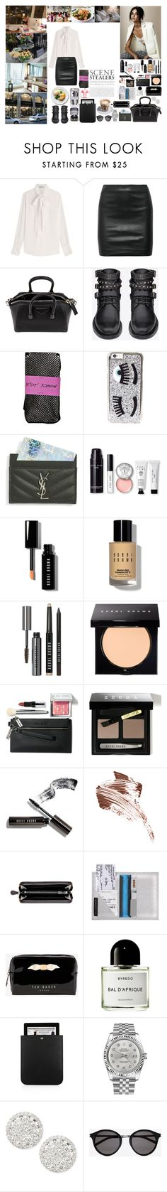 """""""Unbenannt #664"""" by isa1 ❤ liked on Polyvore featuring Valentino, Daydreamer, The Row, Givenchy, Yves Saint Laurent, Betsey Johnson, Chiara Ferragni, Bobbi Brown Cosmetics, Bottega Veneta and Ted Baker"""