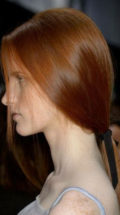 Simple Low Ponytail Featured At Nina Ricci
