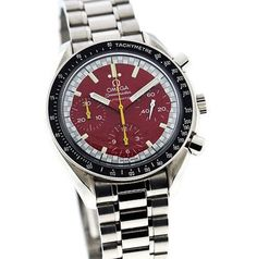 OMEGA Speedmaster Reduced Red Edition dedicated to Schumacher