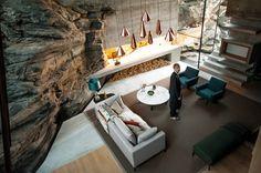 Juvet Landscape Hotel by Jensen & Skodvin Architects   Ex Machina film set //