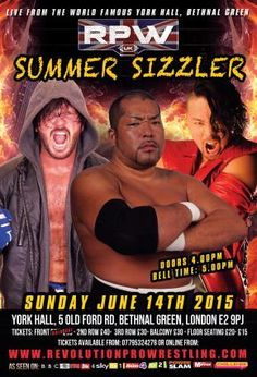 411MANIA | Views from the Hawke's Nest: Revolution Pro Summer Sizzler 2015