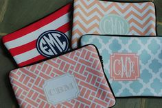 Macbook Pro 15 Sleeve Monogrammed or Personalized