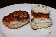 Куриные котлеты с плавленым сыром