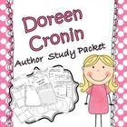 This Doreen Cronin  author study packet has pages which are open-ended.  This allows teachers to choose the books that they want to focus on during...
