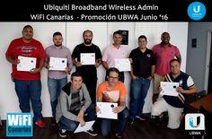 Promoción #Ubiquiti #UBWA #AirMAX #WiFiCanarias Junio '16 . ¡Felicidades!