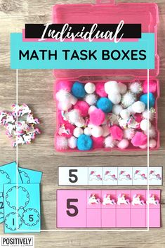 There are two things I always look for when choosing tasks for early math skills! Here are my favorites for differentiation in the special education setting.