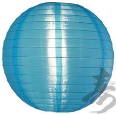 "30"" Sky Blue Nylon Lantern by Asian Import Store, Inc.. $24.95. This Sky Blue nylon lantern is durable and long lasting. This lantern has a shimmer to it which regular paper lanterns do not have. Great for outdoors, this lantern is much more durable outdoors than regular paper lanterns.  Dimensions: 30""D  (All lanterns sold without cord, cord must be purchased separately)  Item cannot ship Internationally"