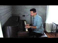 Aaron Shust- The One (Acoustic Performance) - YouTube