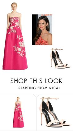 """""""73rd Venice Film Festival"""" by rachel2494 ❤ liked on Polyvore featuring Oscar de la Renta and Tom Ford"""